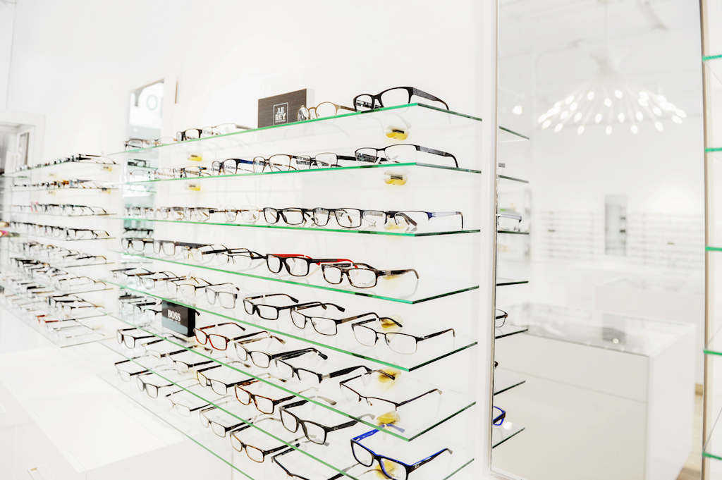 Modern Optometry Office Retail Space Interior Design Shoppe Enchanting Optometry Office Design