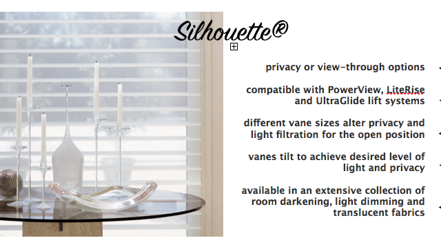 Get to Know Hunter Douglas: Silhouette